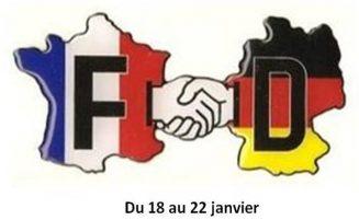 Semaine de l'amitié Franco Allemande